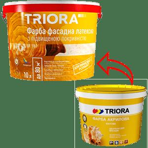 Краска акриловая фасадная TRIORA