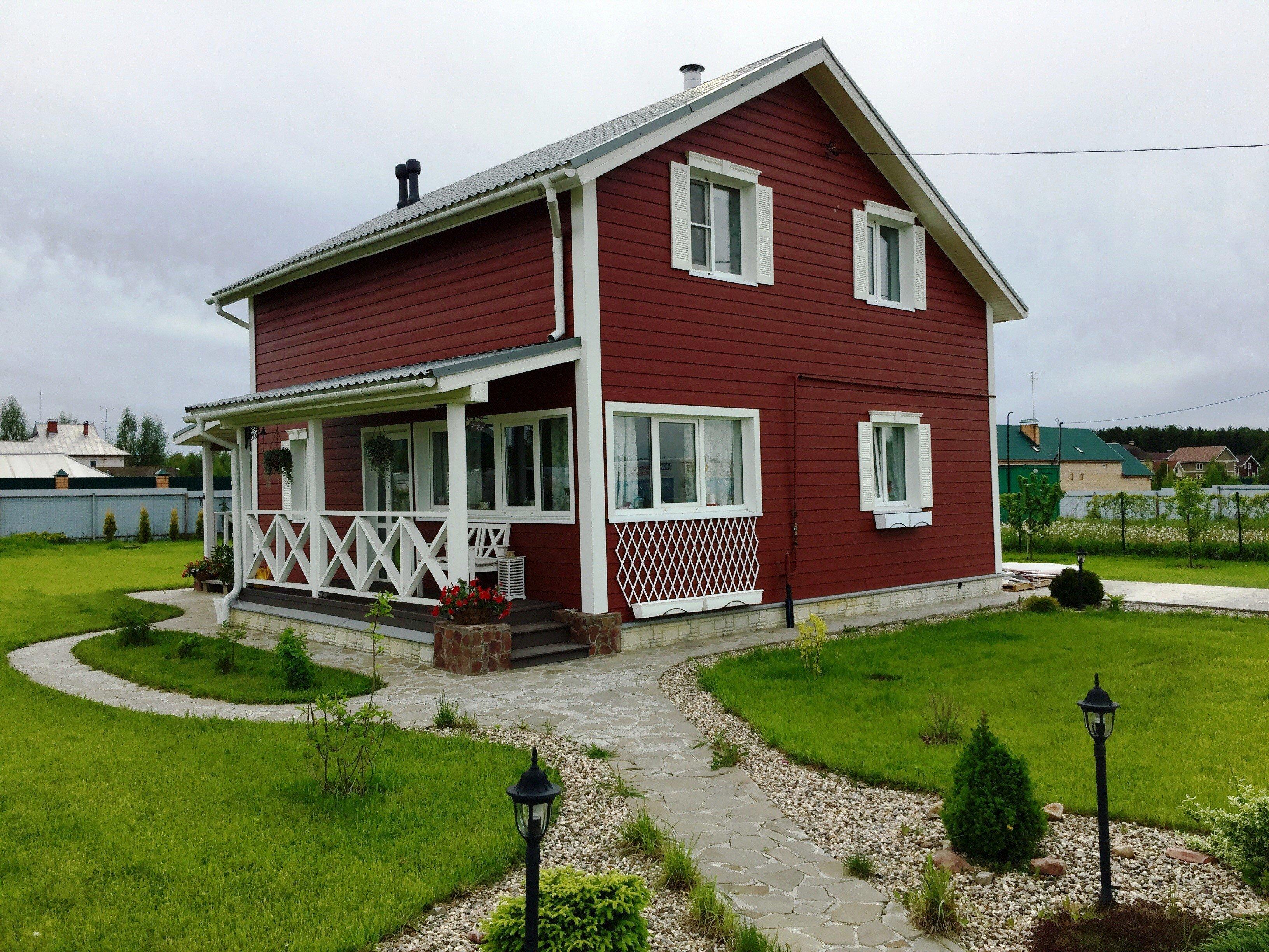 Покрасить дом краской