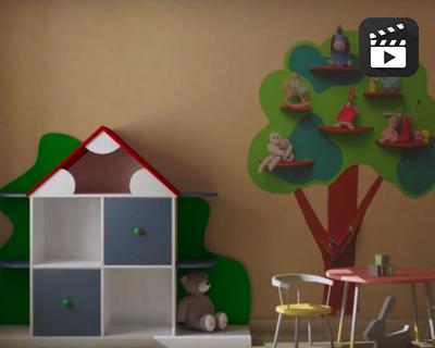 «Где живут игрушки?» или как создать необычный дизайн детской комнаты