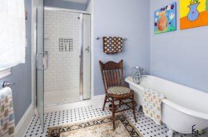 краска для стен в ванной прованс