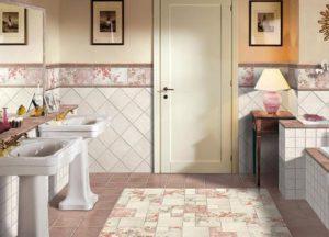 плитка для ванной прованс