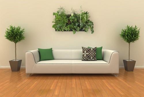Новый тренд: цветы в интерьере. Как и где их применить?