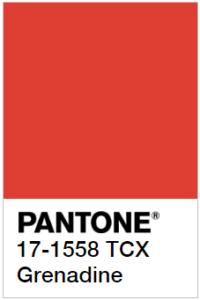 Pantone Гренадин