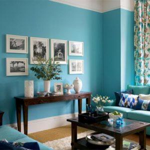 Один цвет во всем помещении