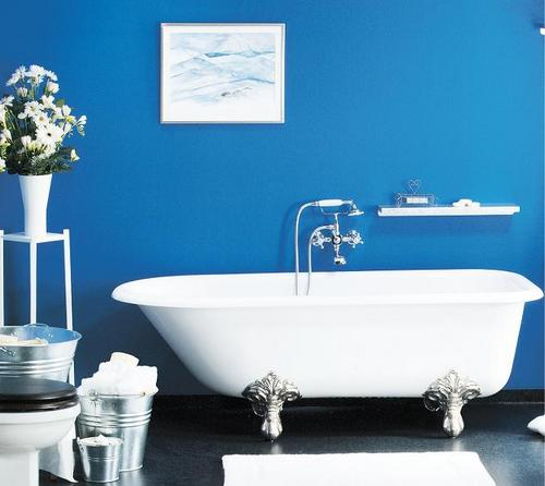 Глянцевая или матовая краска для ванной: что выбрать?