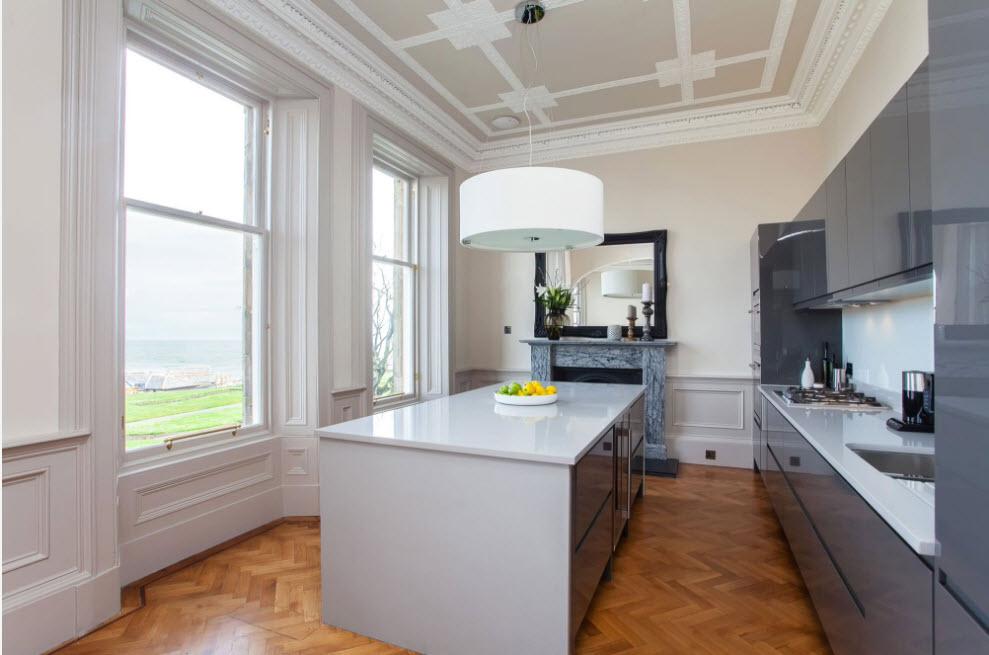 Тенденции кухонных интерьеров