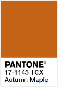 Pantone Осенний клен