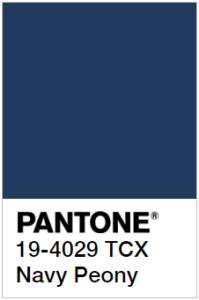 Pantone Морской пион