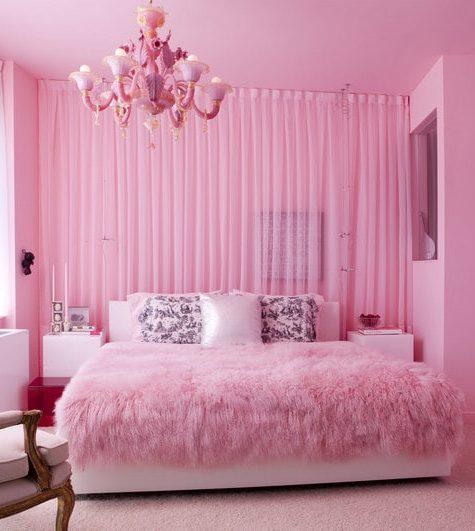 Этюд в розовых тонах: топ 5 интерьеров в розовом