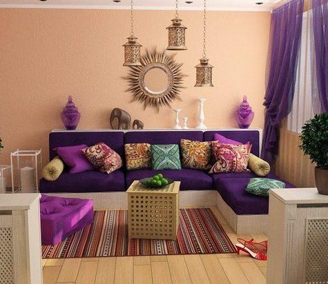 Восточный стиль: цветовые особенности оформления