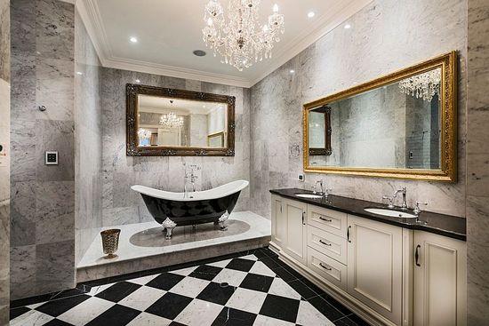 Модные тренды ванных комнат 2018
