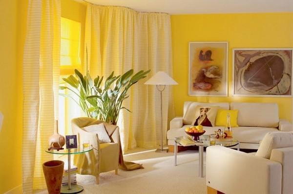 Как перестать бояться использовать желтый в интерьере