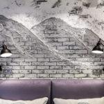 Такой популярный лофт: 5 шагов как покрасить кирпичную стену