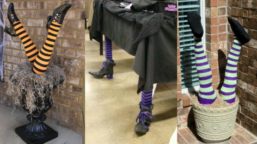 идеи оформления на Хеллоуин