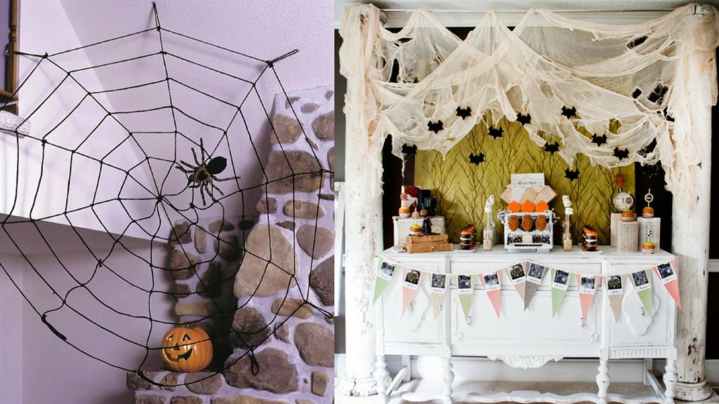 интерьер на Хеллоуин